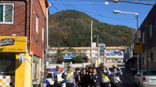 청송경찰서, 어린이보호구역 주정차 금지 대대적 홍보 나서.....