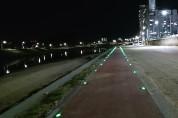 울진군 야간 산책로 밝히는 표지병 설치