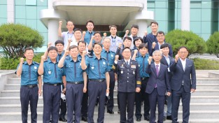 박건찬 경북경찰청장, 청송署 치안정책공유 간담회 개최