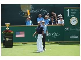 프레지던츠 컵 호주 로얄 멜버른 골프 클럽에서 개최
