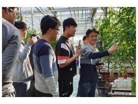 청년농업인, 스마트팜 운영기술 교육 인기